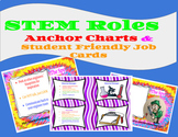 STEM Group Roles: Anchor Charts, Power Point & Student Fri