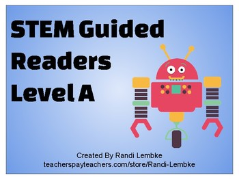 STEM Guided Readers Level A
