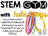 STEM Gym Challenges with Hula Hoops - Set of 3 Challenges