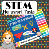 STEM HOMEWORK TASKS (20 DIGITAL TECHNOLOGIES, DESIGN & STEAM ACTIVITIES)