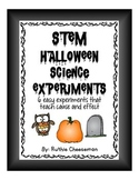 STEM Halloween Science Experiments