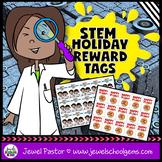 STEM Holiday Reward Tags (STEM Reward Tags)