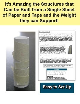 STEM: How Much Weight Can 1 Sheet of Paper Hold?