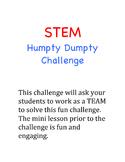 STEM Humpty Dumpty Challenge