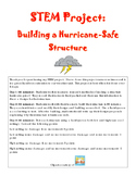 STEM Weather Activity - Hurricane-Safe Structure