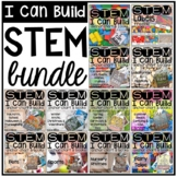 STEM I Can Build Cards, Books, and Anchor Charts BUNDLE