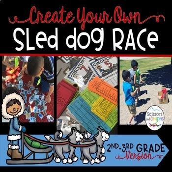 Iditarod STEM Sled Dog Race for your Math Class