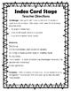 STEM Challenge:  Index Card Stage