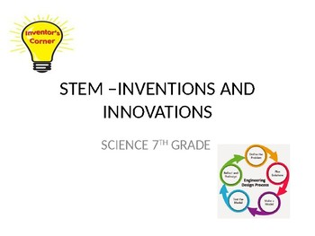 STEM.,,,Innovations and Inventions