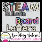 STEM Inspired Bulletin Board Letters STEAM