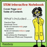 STEM Interactive Notebook Cover