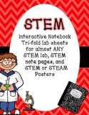 STEM Interactive Notebook Templates for almost ANY Lab and