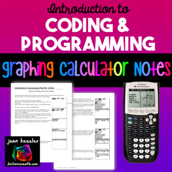 Graphing Calculator Introduction to Coding and Programming