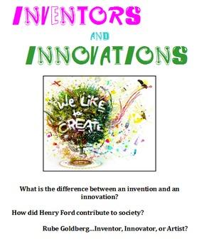 STEM: Inventions & Innovations Unit