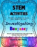 STEM Investigating Buoyancy