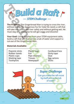 STEM Investigation - Build a Raft