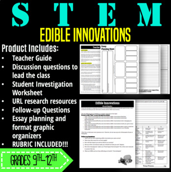 STEM Activity-Edible Innovations