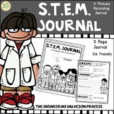 STEM Journal - STEM Recording Sheets - For Any STEM Project
