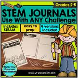 STEM journal | STEM recording sheet | STEM reflection | NGSS | STEM Challenge