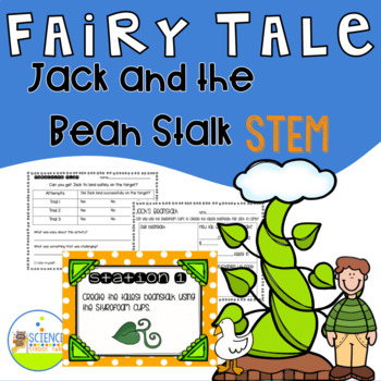 STEM Fairy Tale: Jack and The Beanstalk Stations/ Activities
