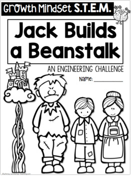 STEM Jack and the Beanstalk (with Growth Mindset Partner Play)