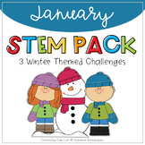 STEM - January Winter Themed Challenges