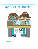 STEM Journal Printable - Cover page included!!!