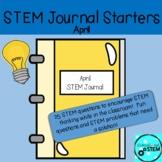 STEM Journal Starters for April