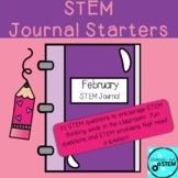 STEM Journal Starters for February
