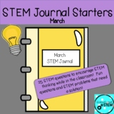 STEM Journal Starters for March