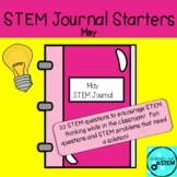 STEM Journal Starters for May