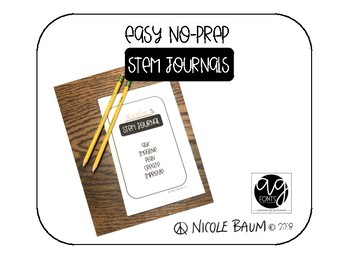 STEM Journal - for use with any STEM challenge!