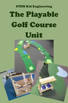STEAM Kid Engineering -- The Playable Golf Course Design U