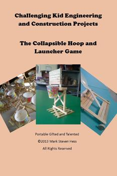 STEM Kid Engineering and Construction -- Hoop and Launcher Game GATE