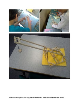STEM Kid Engineering for GATE -- Pendulum Wrecking Ball and Magnetic Crane