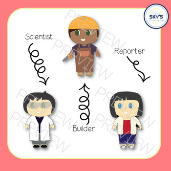 STEM Kids   Clip Art Set