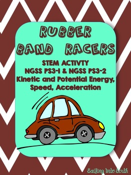 Rubber Band Cars - STEM - Potential and Kinetic Energy