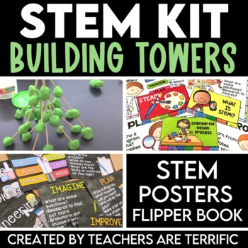 STEM Kit with Building Toothpick Towers