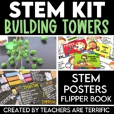 Building Toothpick Towers STEM Kit