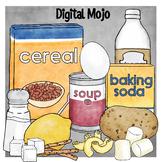 STEM Kitchen Food Clipart