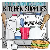 STEM Kitchen Supplies Clipart