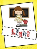 STEM: LIGHT Unit! Inquiry Based* Experiments*Projects*Vocab*Study Guide*Test