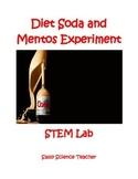 STEM Lab - Diet Coke & Mentos Investigation