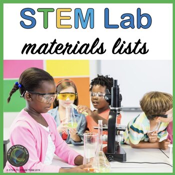 STEM Lab Materials List - What You Need to Get Started!