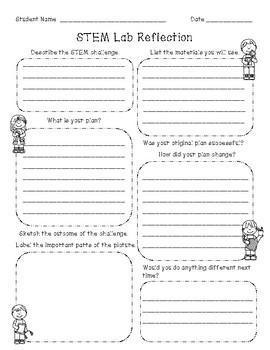 STEM Lab Reflection Sheet