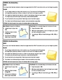 STEM Lab Science Experiment - note card post it memo dead lift