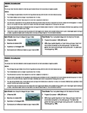 STEM Lab Science Experiment - paper airplane accuracy lab
