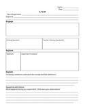 STEM Lab Worksheet