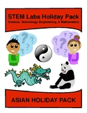 STEM Labs Pack - 11 Asian Holidays Projects Pack - Chinese New Year & more!