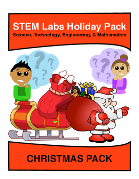 STEM Labs Pack - Christmas Winter Projects Pack of 10 Holi